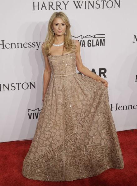 Best dressed: zag Nicky of Paris Hilton er beter uit in kant?