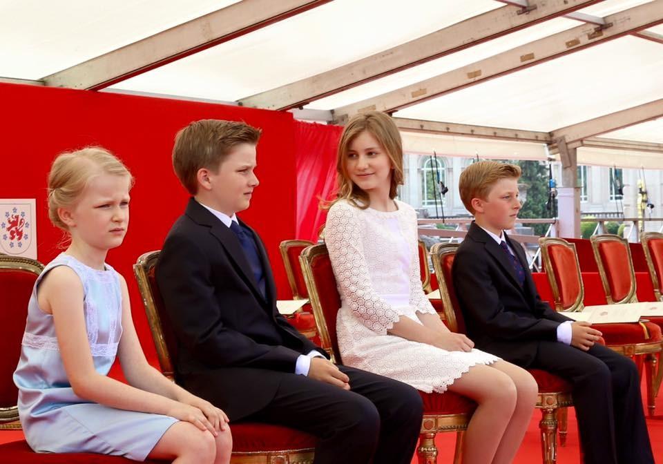 © Belgische Monarchie / Facebook