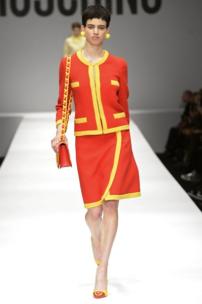 Moschino - Runway RTW - Fall 2014 - Milan Fashion Week