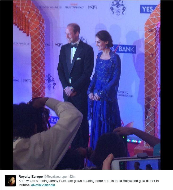 India dag 1 Bollywood diner Jenny Packham