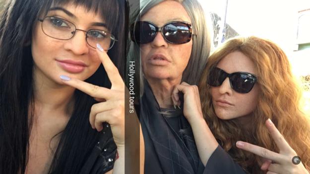 © Kylie Jenner Snapchat, Kendall, Kylie en Khloé