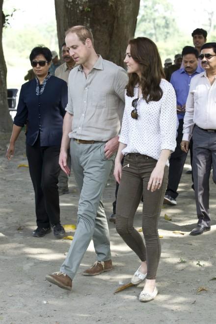 Prins William en hertogin Kate