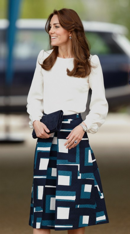 Kate Middleton - royal look