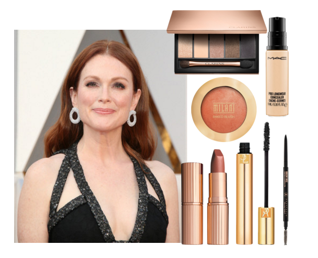 Get the beauty look: Julianne Moore