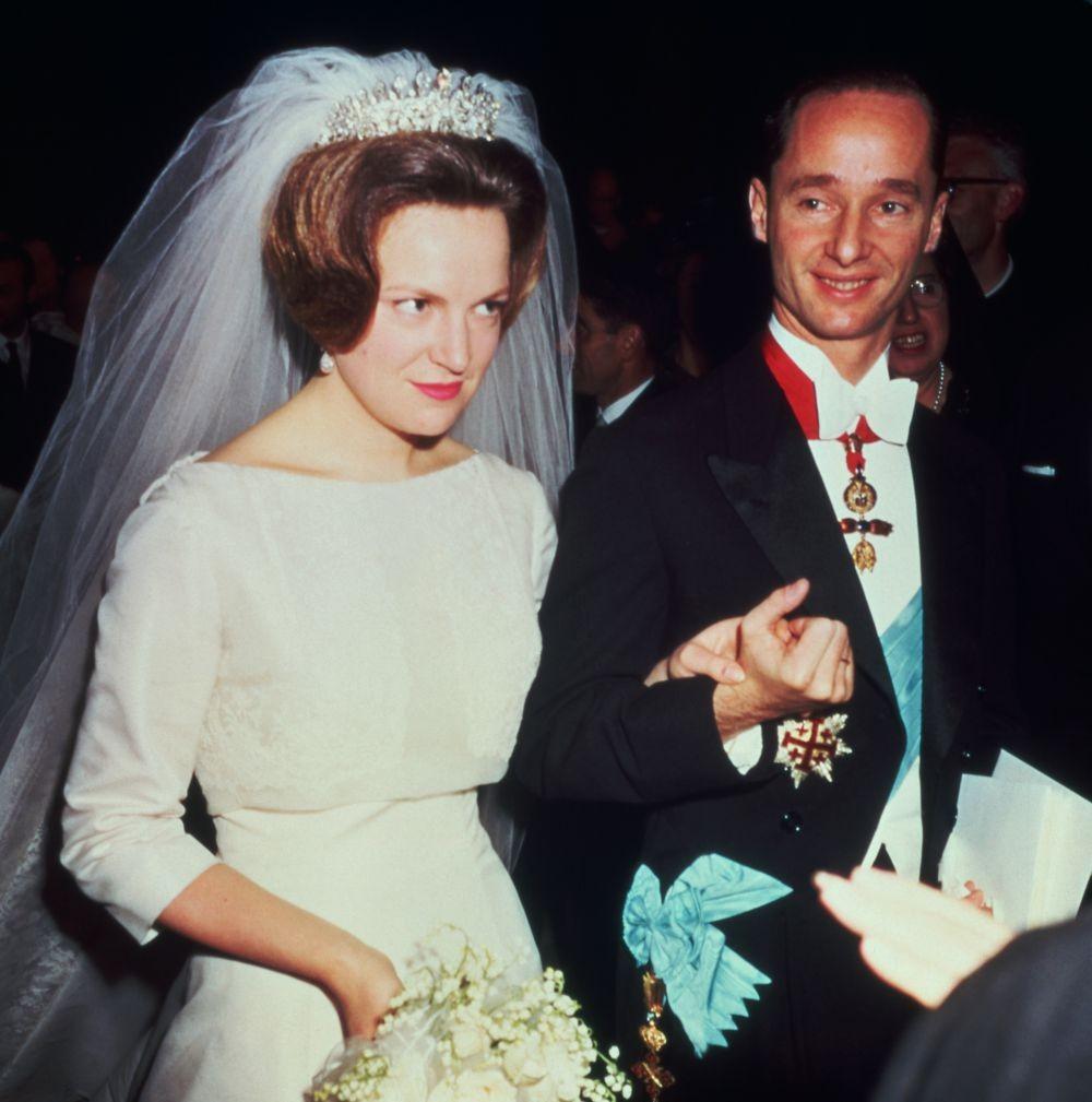 huwelijk irene en carlos 1964 ANP