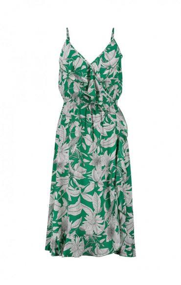 SS20_Freebird_Karlijn dress flower green_EUR89,95