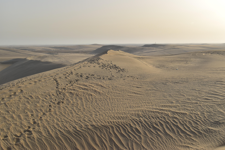 De woestijn van Qatar | Foto: Sophie Bous