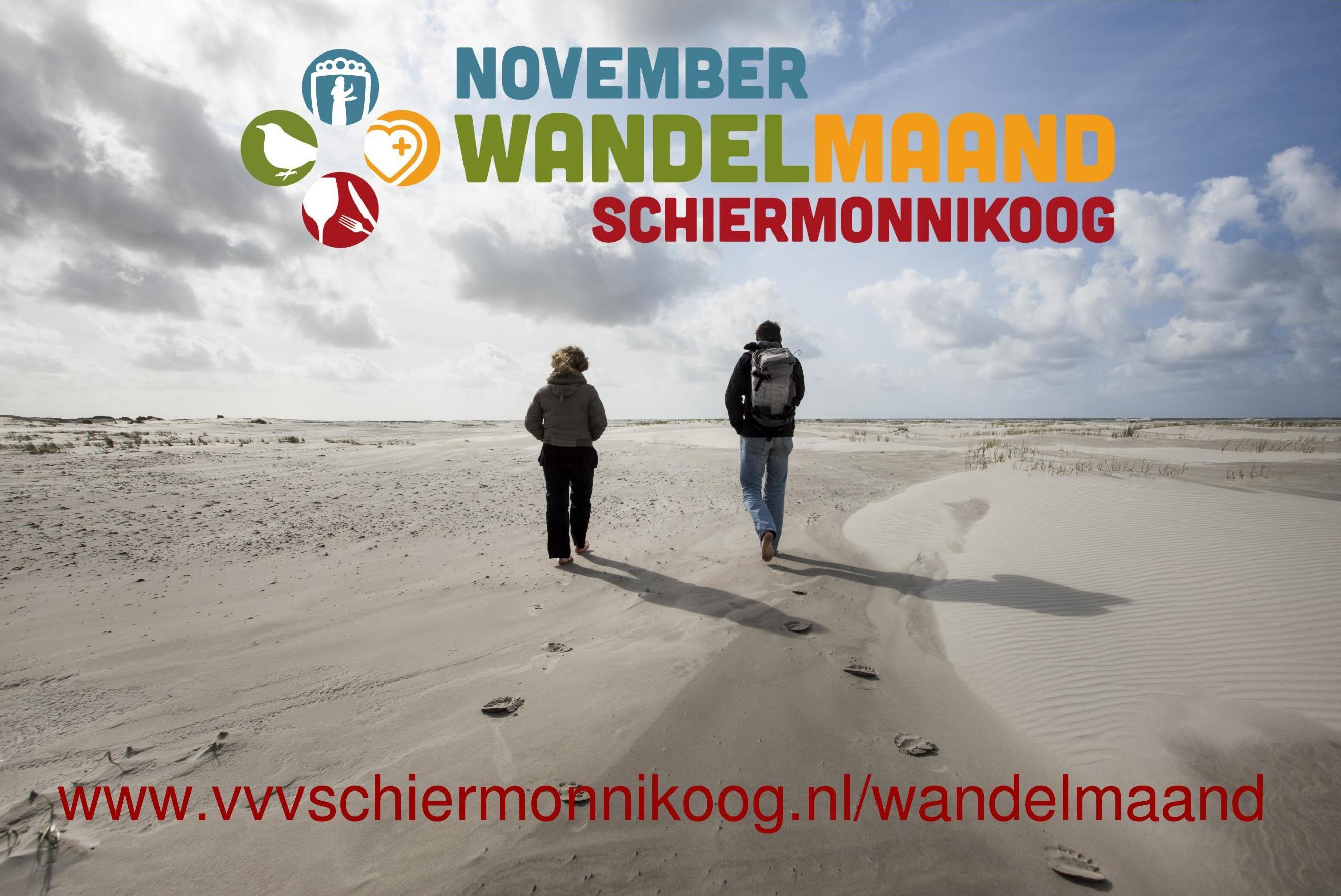Schiermonnikoog november Wandelmaand