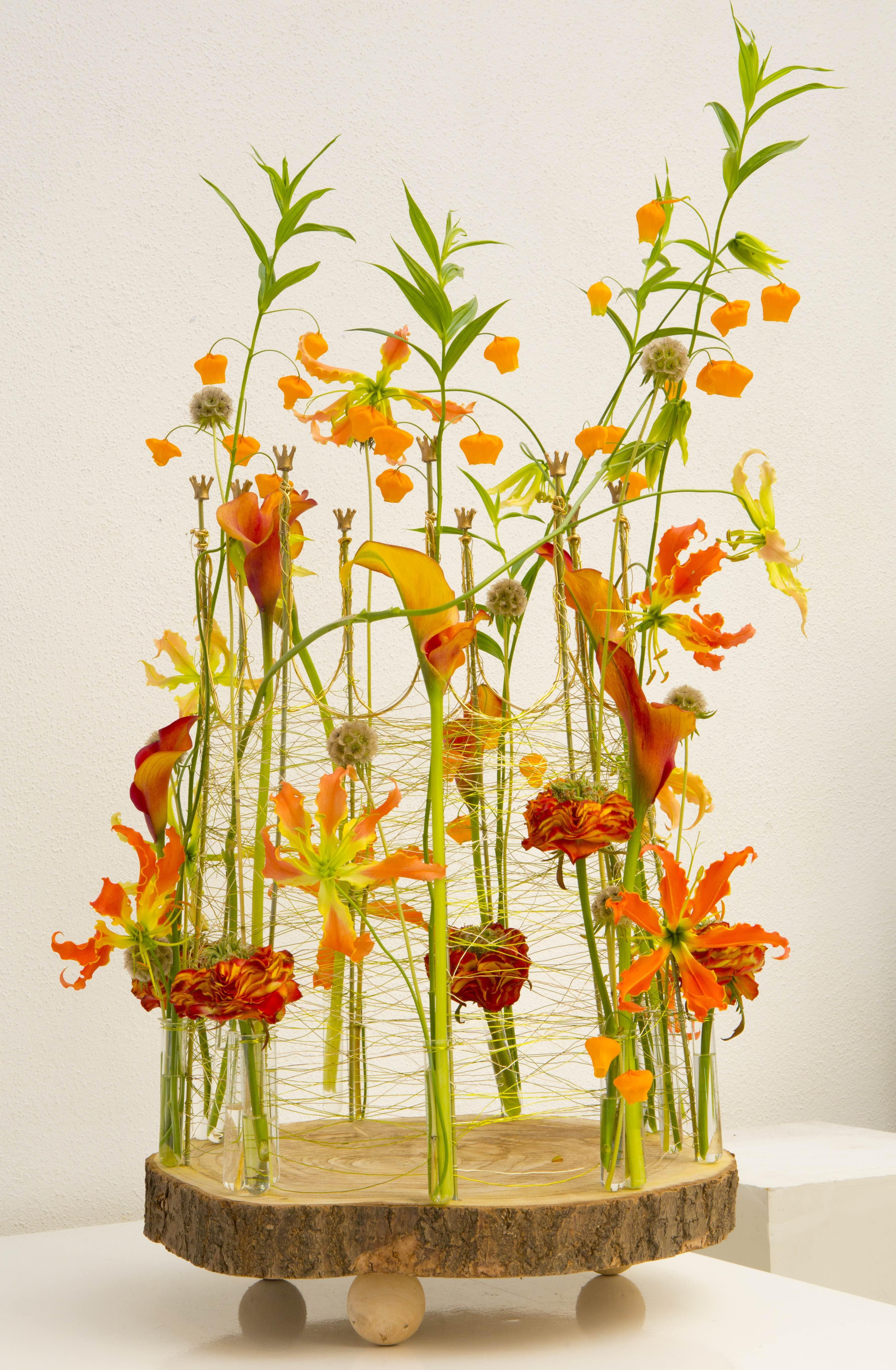 bloemenkroon