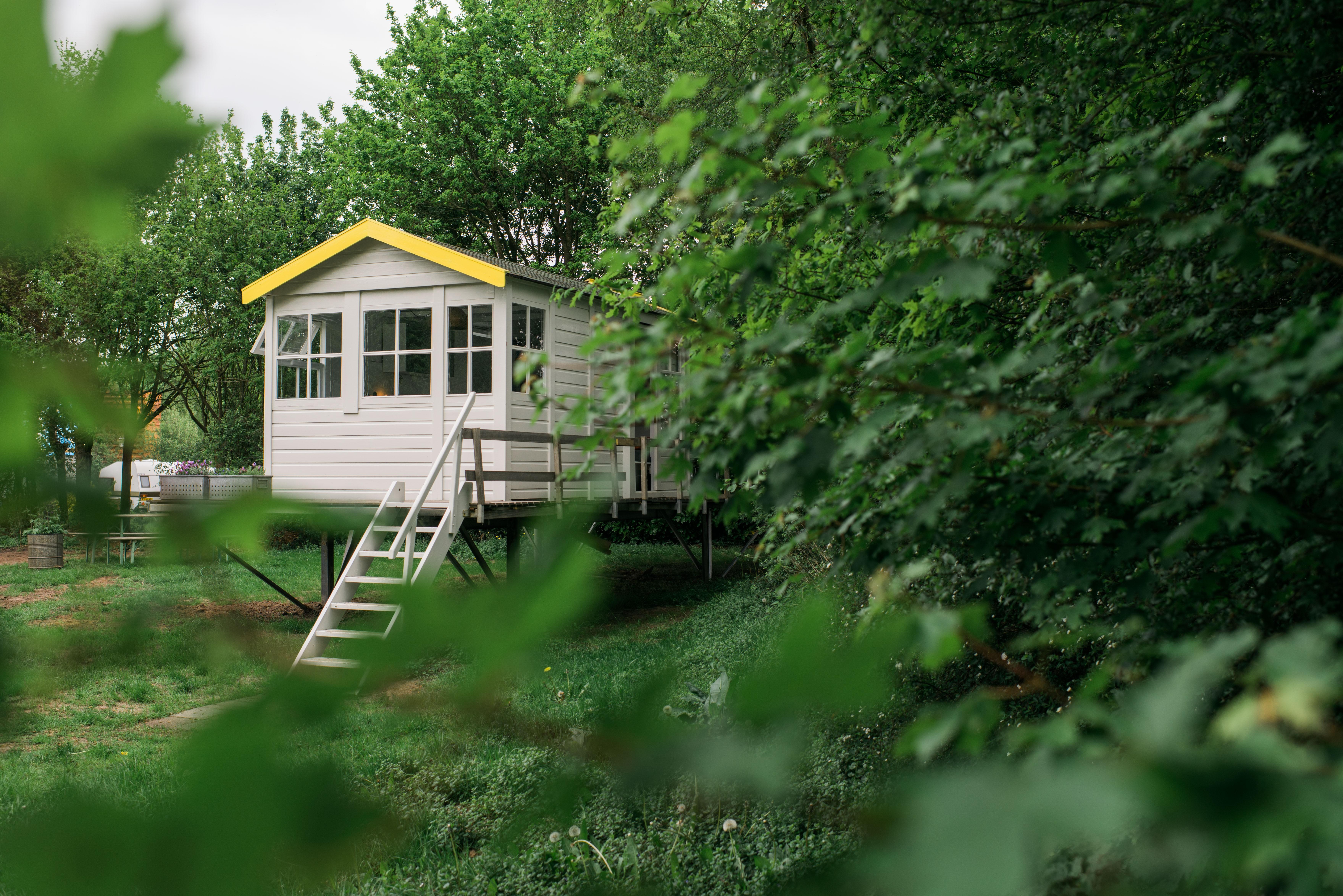 huisje camping buitenland